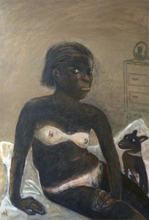 Bikini line, 2017, oil on canvas, 90 x 65 cm