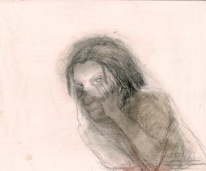 DW25-2/4, 2016, pencil, 30 x 35cm