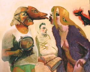 Lot's wife, 2004, oil on canvas, 94 x 113 cm