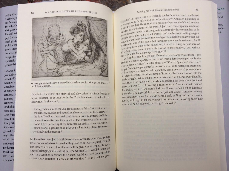 Sex and Slaughter - MH Jael and Sisera prints