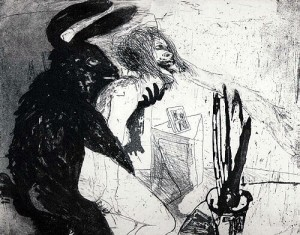 Beasts, 2003, etching/aquatint, 19.5 x 24.5 cm, edition 25
