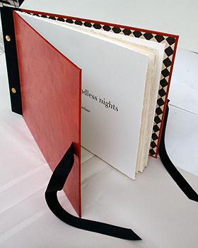 Pillow book for Endless nights, Livre d'Artiste, 2011, book edition 7