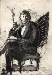 Harry at 16, 2001, etching/aquatint, 25 x 17 cm, edition 25