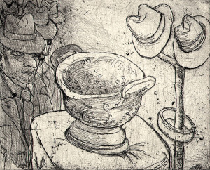 King of colanders 2, 2009, 10 x 12.5 cm, edition 15