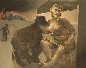 The Civilisers, 2014, oil on canvas, 96 x 122 cm