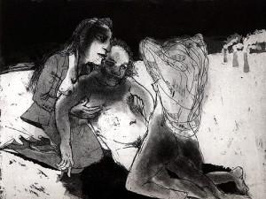 Trinity, 2008, etching/aquatint, 20 x 25 cm, edition 30