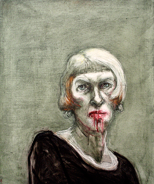 Marcelle Hanselaar - Self Portrait 2012